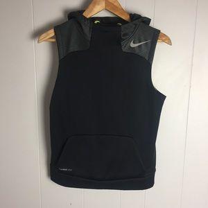 Nike Therma Fit Sleeveless Hoodie-L(Boy)